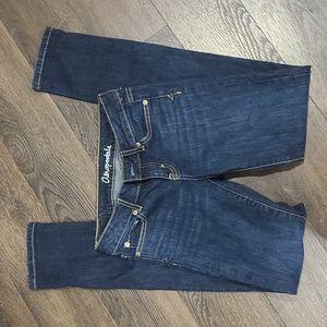 Aeropostal dark wash bayla skinny jeans low rise